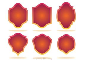 Gradation Shield Form Icons