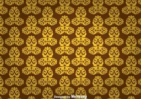 Gold Ornament Wall Tapestry
