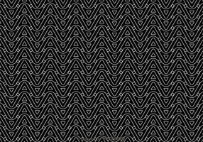 Teste padrão de onda em preto e branco