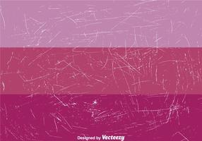 Peinture craquelée sur violet