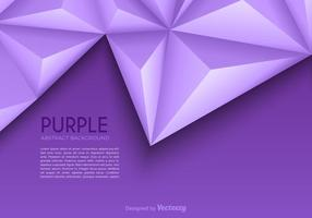 Free Purple Abstract Dreieck Vektor Hintergrund