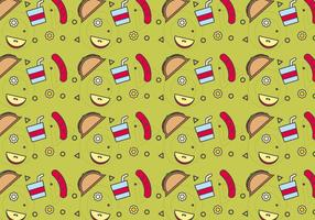 Free School Lunch Vector Pattern # 6