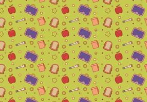 Gratis School Lunch Vector Patroon # 5