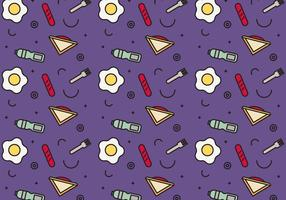 Free School Lunch Vector Pattern # 4