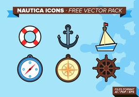 Nautica Icons kostenlos Vector Pack