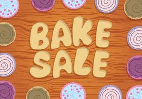 Bake försäljning vektor