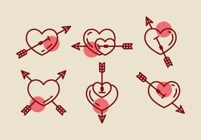 Gratis Heart Vector Pictogrammen # 1