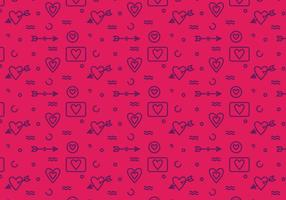 Free Heart Vector Pattern #6