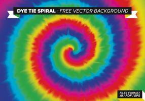 Dye Tie espiral vector de fondo libre