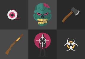 Zombie di vettore
