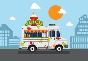 Vector Juice Truck