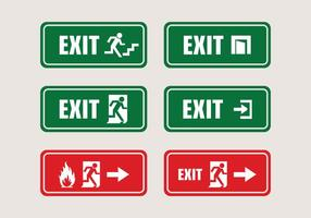 Vector Exit Sign System