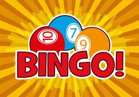 Free Bingo Design Vector