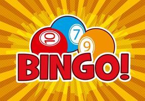 Vector de design de bingo grátis