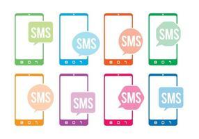 Vetores do ícone Sms