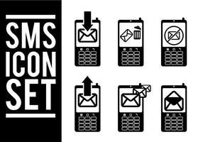 Vecteurs d'icône Sms