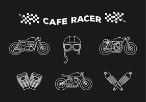 Vecteur cafe racer