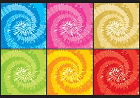 Tye Dye Textures vector