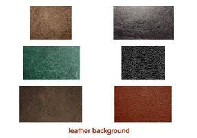 Leather background Vectors