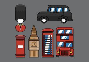 Icono de la calle de Londres del vector