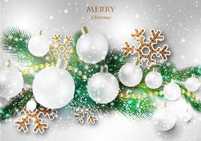 Gratis Merry Christmas Vector