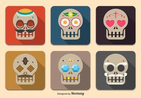 Dag van de doden schedels