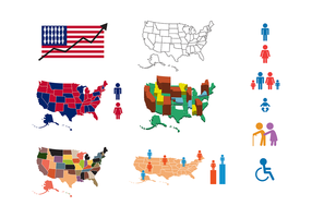 Free US Population Vector
