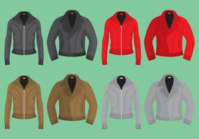 Leather Jackets vector