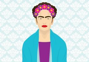 Frida khalo vector
