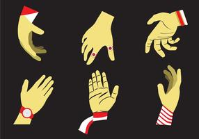 Hand Reach Vector Illustration
