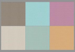 Vectores de la textura del saco