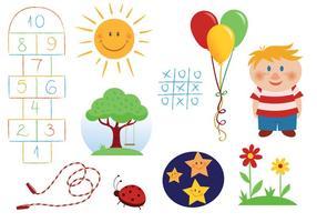 Free Children Vectors