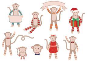 Libere los vectores del mono