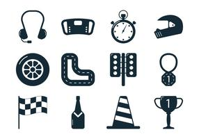 Pit Stop Pictogram