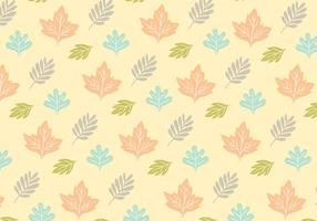 Leafy Pattern Background Vector