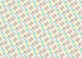 Vetor de padrão abstrato geométrico pastel