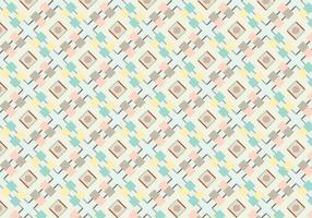 Pastell geometrisk abstrakt mönster vektor
