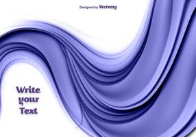 Vetor de ondas de fluxo roxo abstrato