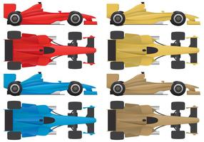 F1 coches vectores