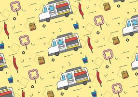 Free Foodtruck Vector Patterns # 3
