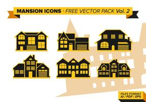 Mansion Icons Free Vector Pack Vol. 2