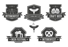 Oktoberfest label set
