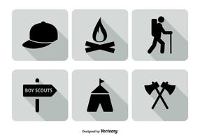 Boy Scout Icon Set