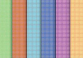 Creatieve Plaid Pattern Vectors