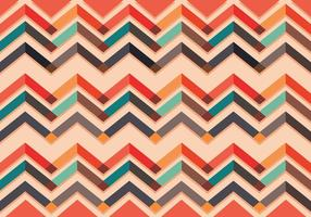 Chevron pattern vector colorful