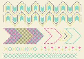 Cross Stitch Pattern Set