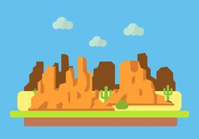 Vectorillustratie van Grand Canyon