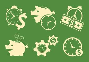 Vector Symbols of Time and Money