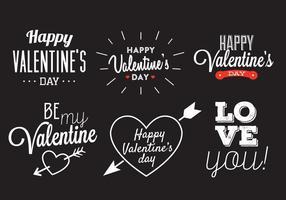 Vecteur de la Saint-Valentin