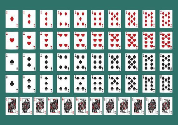 Poker Cards 99080 Vector Art at Vecteezy